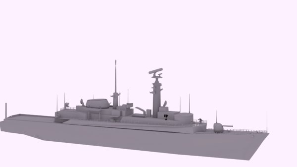 hms royal navy 3D model