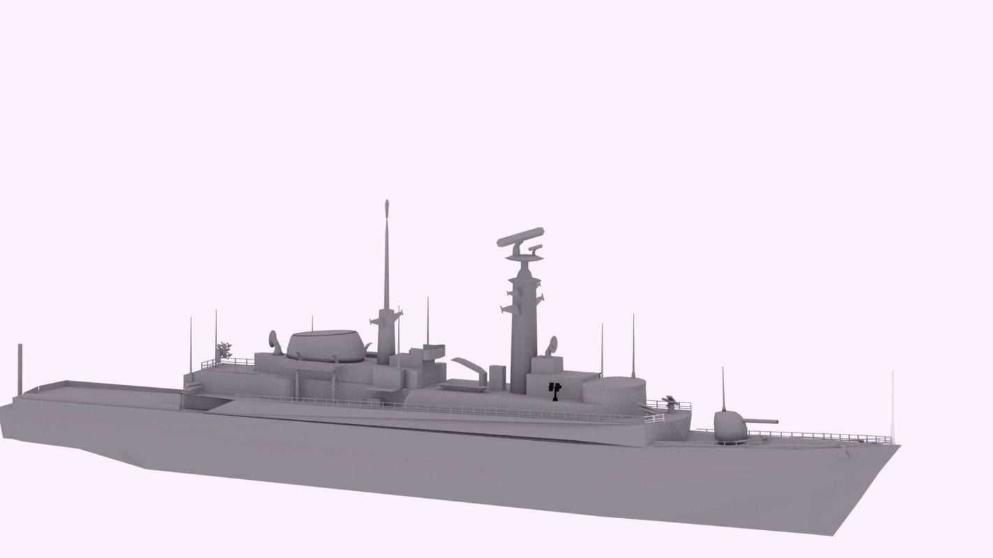 hms royal navy 3D model