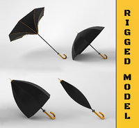 umbrella rigged model