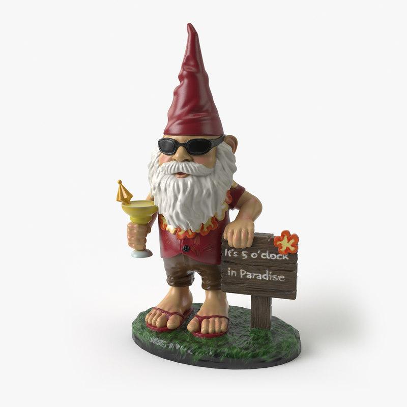 garden gnome model