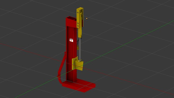 3D splitter tools wood model