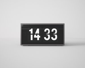 3D table watch