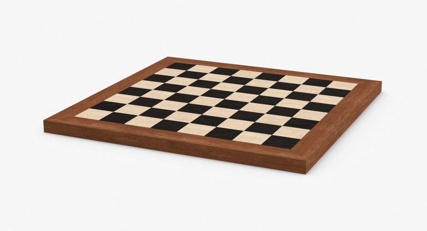 chess-board 3D model
