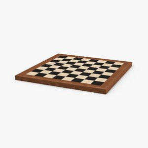 chess-board 3D model