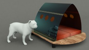 3D dog house project -