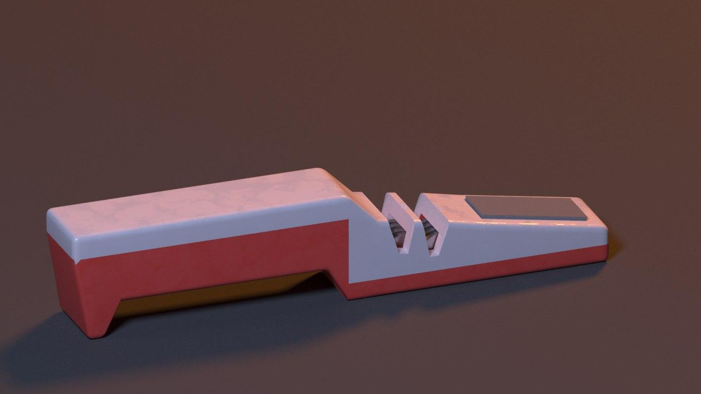 knife sharpener 3D model