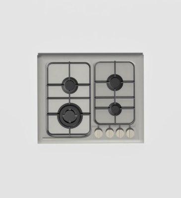 benchtop cooktop 3D