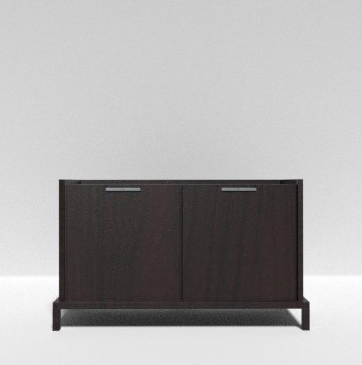 wood cabinet model