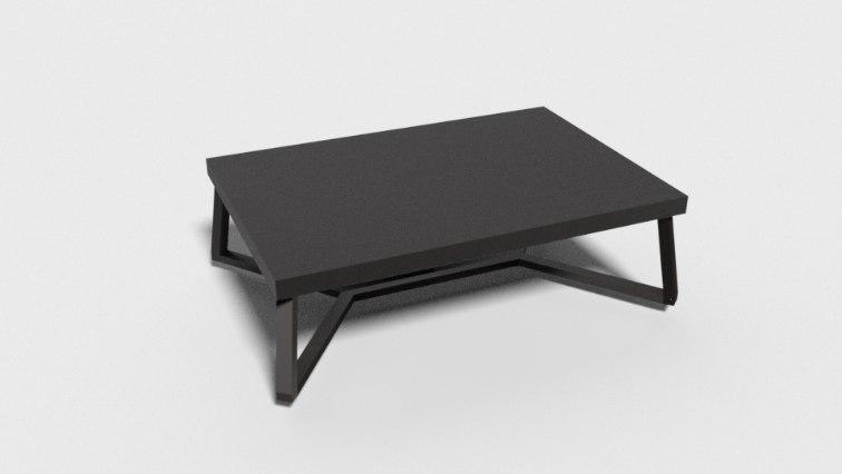 3D pbr center table
