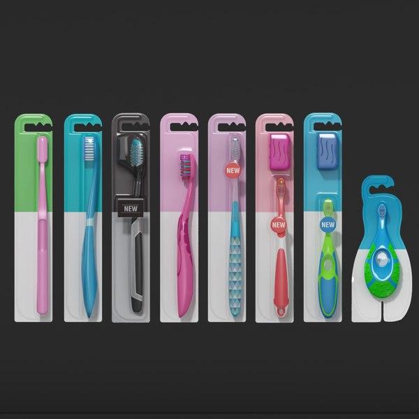 tooth brush toothbrush 3D model