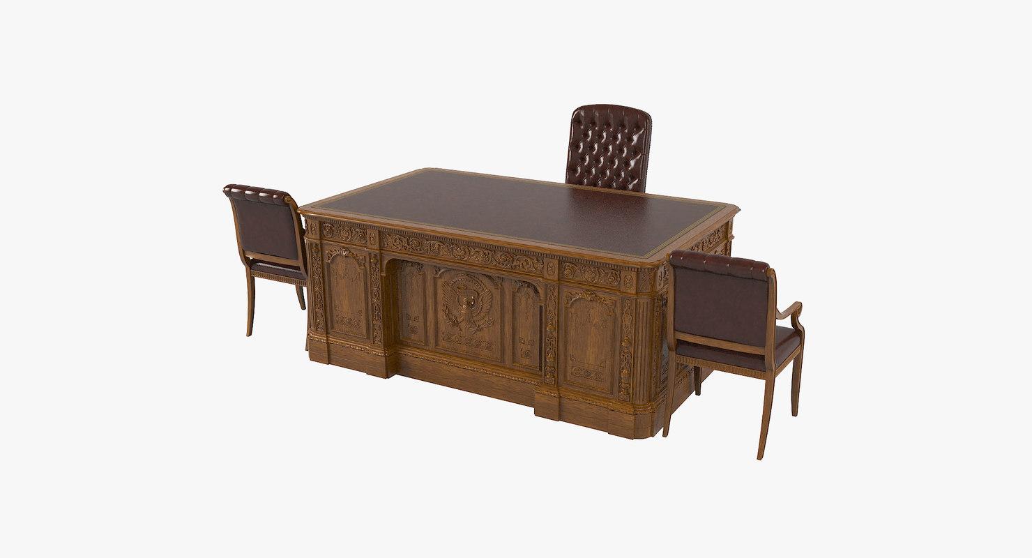 resolute desk model