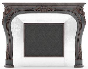 fireplace roberto giovannini 1363 3D model