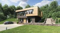 HiTech hill house