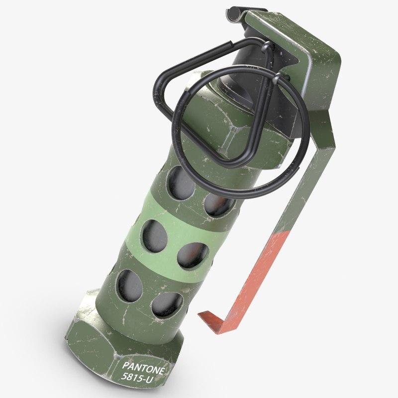 3D stun grenade m84