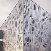 perforated metal panel_2 3D