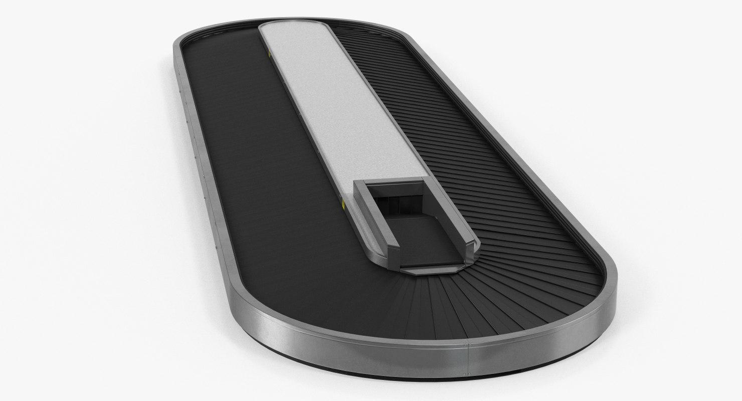 baggage conveyor belt model