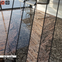 tile cosmo stone set 3D