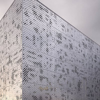 perforated metal panel_4 3D