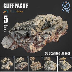 cliff pack f 3D model