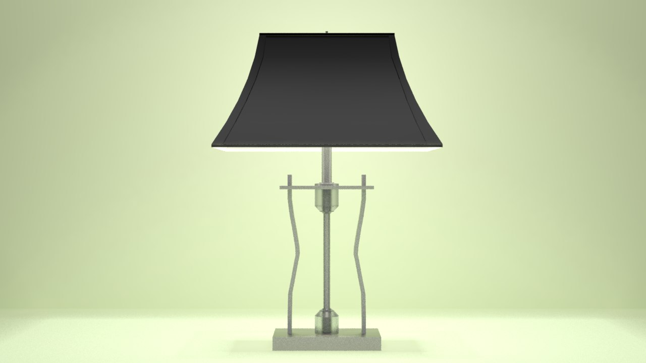 3D table lamp rst 3043 model