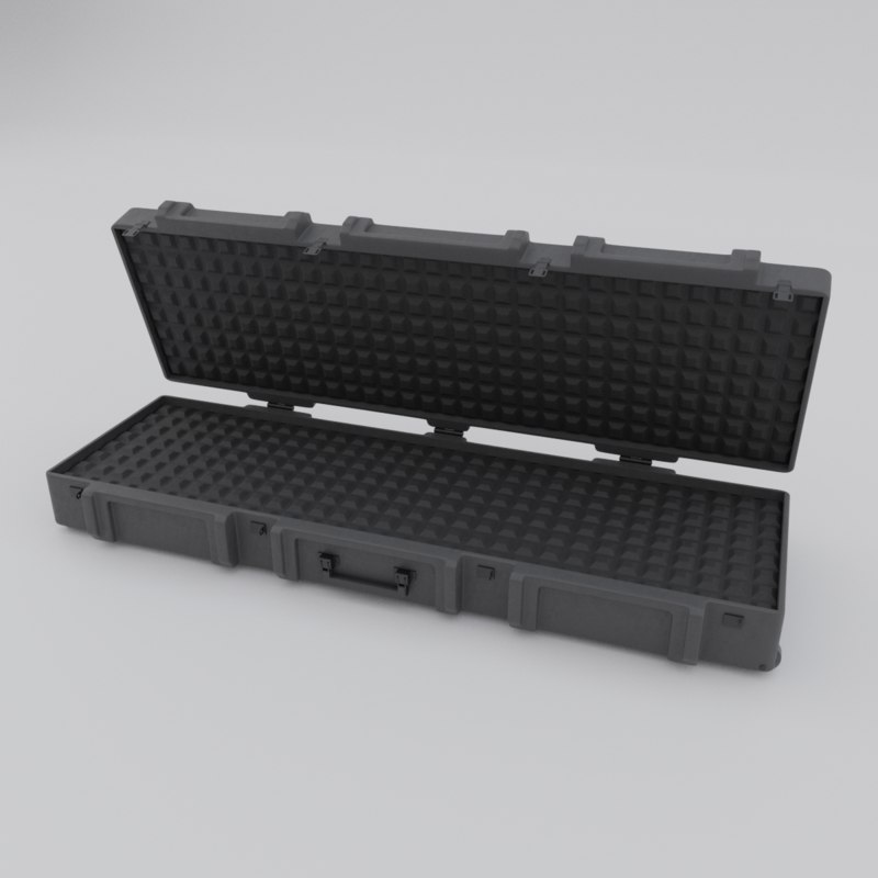 military weapon case 3D
