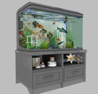 aqua aquarium 3D