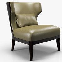 3D bellavista - grace wood chair