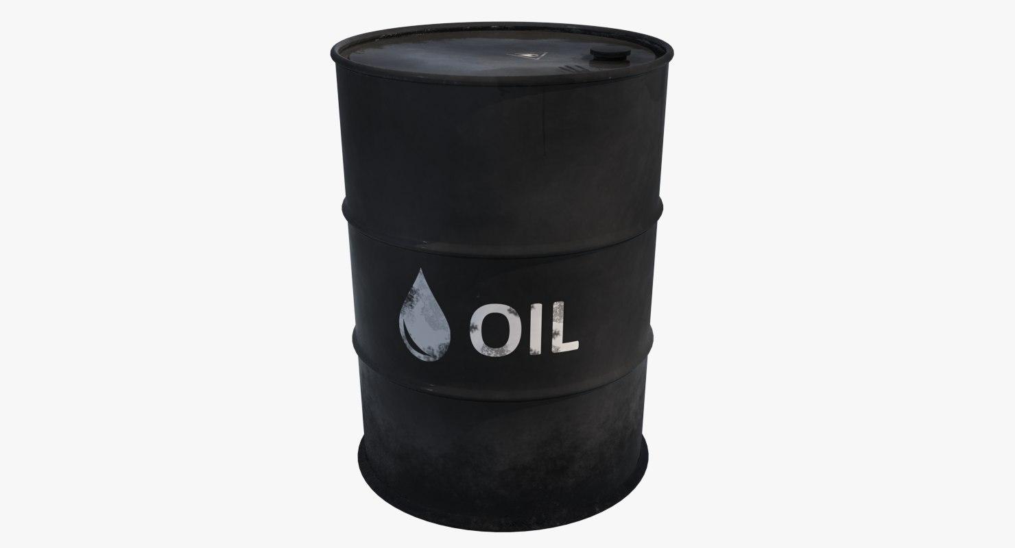 oil barrel model