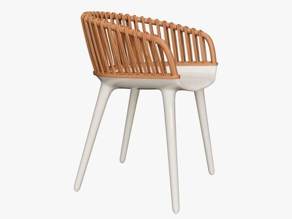 magis cyborg club chair 3D model