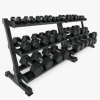 Hex Dumbbell Set