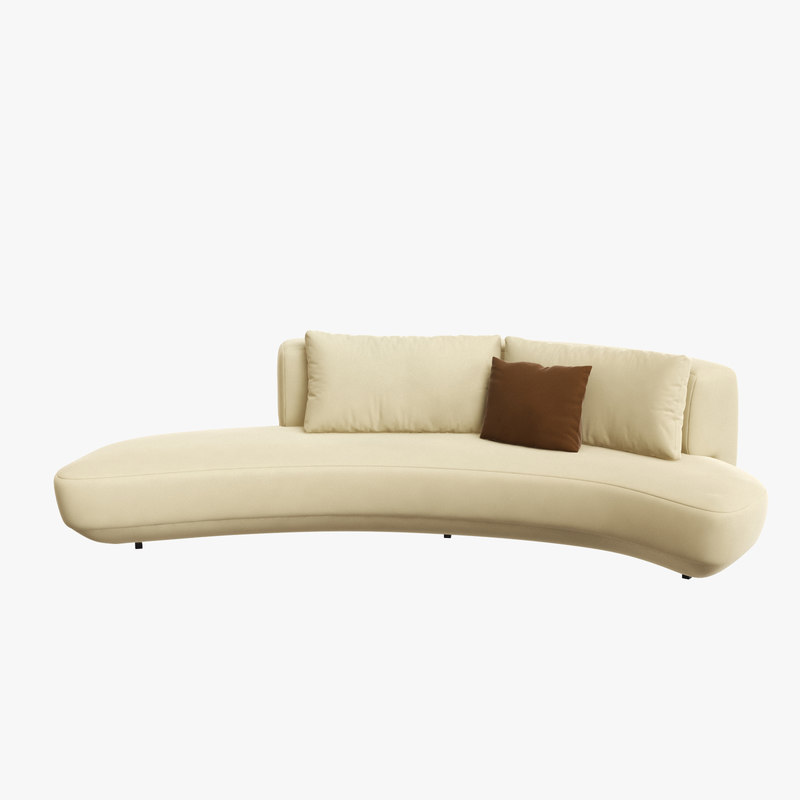 audrey curved sofa massimo model