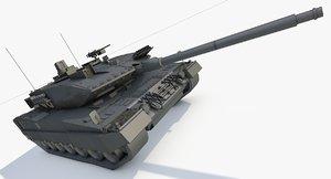 leopard 2a7 3D model