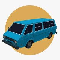 Van car 03