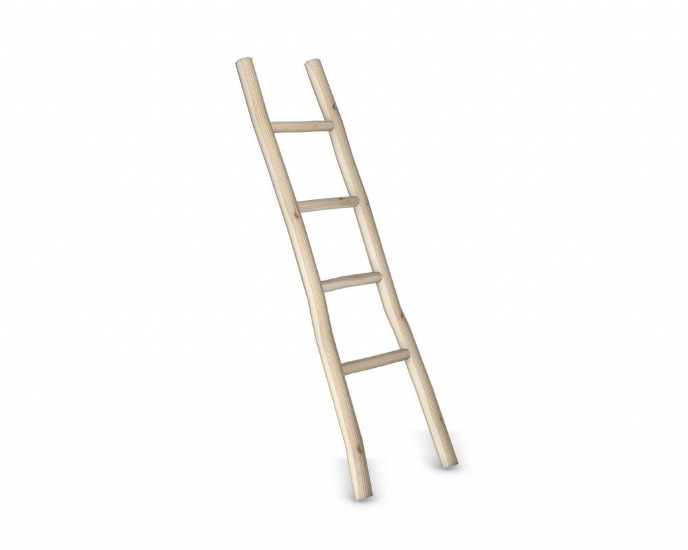 wood ladder 3D