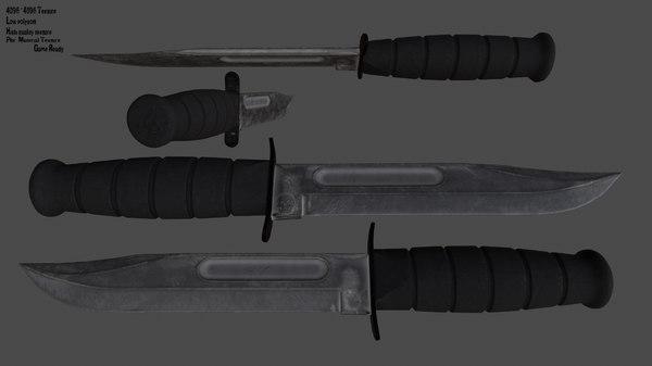 knife 3D