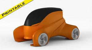 ev concept car model