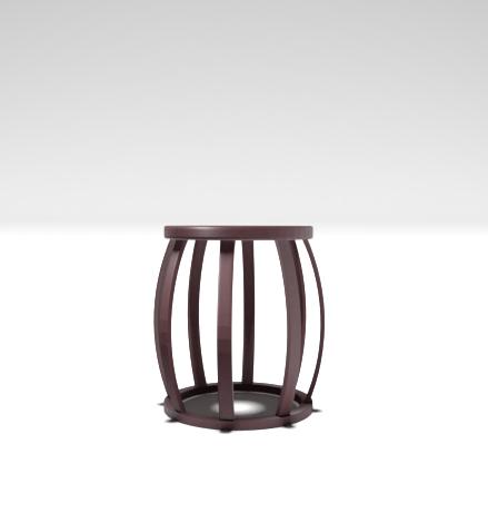 3D rendering stool chair