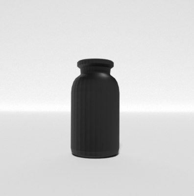 bottle living room 3D