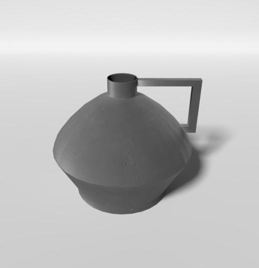 handle vase model