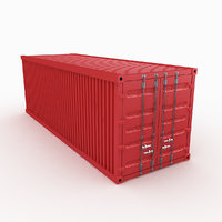 3D freight container model