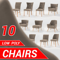 10 chairs set