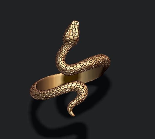 snake ring model