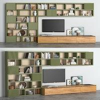 tv books 3D model