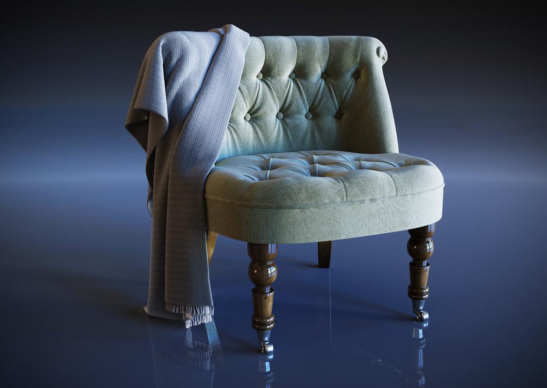 3D shannon cocktail chair