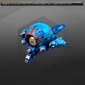 3d sci-fi 3D model