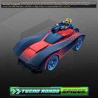 3D model tecno car
