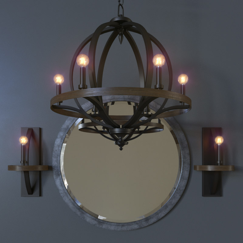 brayden ceiling lamp 3D model