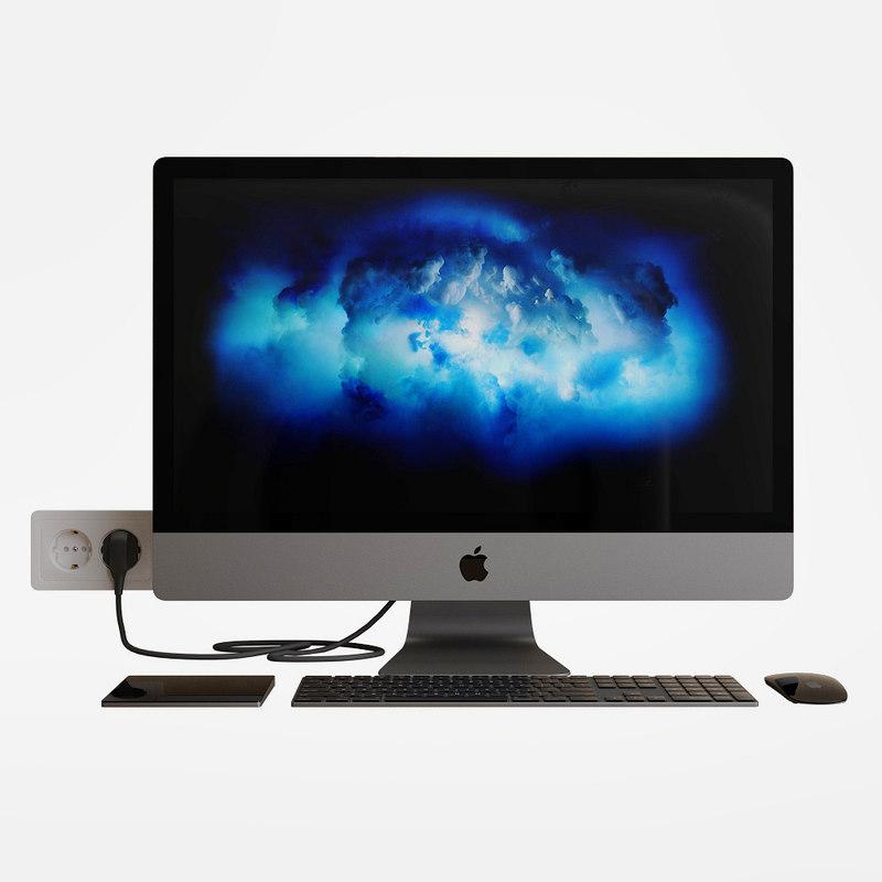 apple imac pro model