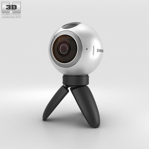 3D samsung gear 360 model
