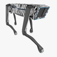 Robot SpotMini Zebra